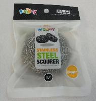 1pc 40g Stainless Steel Scourer